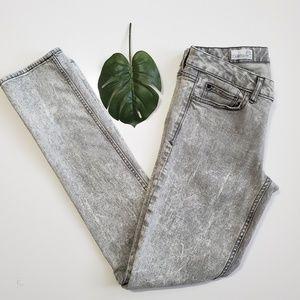 Gap   1969 Always Skinny Jeans in Acid Wash Gray
